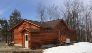 Hilltop Log and Timber Homes maine, Log Home Packages